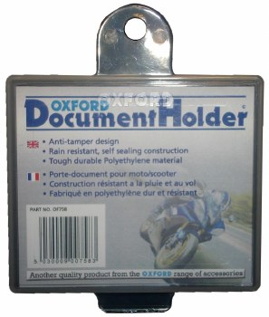 Oxford Document Holder OF758