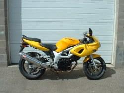 2000 Suzuki SV650 Yellow
