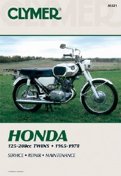 Clymer Honda M321