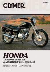 Clymer Honda M324-5