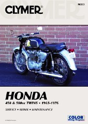 Clymer Honda M333