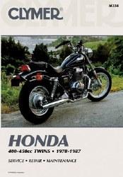 Clymer Honda M334