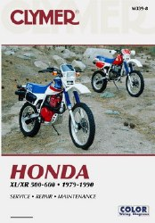 Clymer Honda M339-8