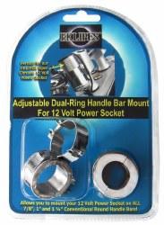EKLIPES Dual Ring H/Bar Mnt CH