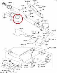 Exhaust Manifold Gasket KLR650