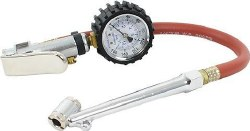 Tire Inflator with Gauge