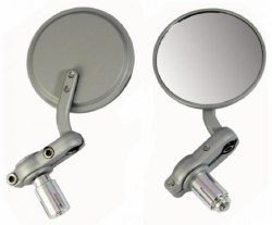 Oxford Bar End Mirrors SIL
