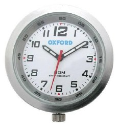 Oxford Clock OF218W Chrome