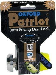Oxford Locks Patriot YLW OF40