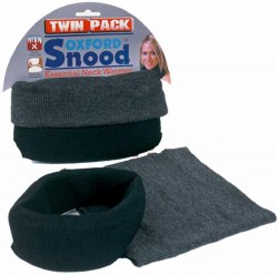 Oxford Snood Twin Pack