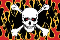 KTC Skull and Crossbones Flag