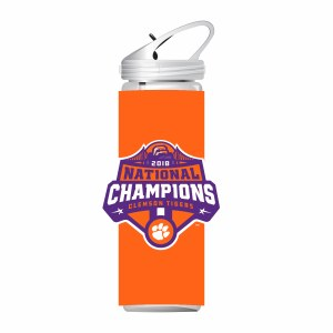 Clemson Tigers 2018 National Champs 32oz Tall Bottle