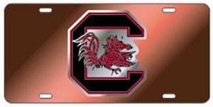 "South Carolina Gamecocks Block ""C"" BURGANDY Tag"