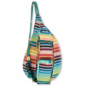 Kavu SUMMER STRIPE Mini Rope Sling Bag