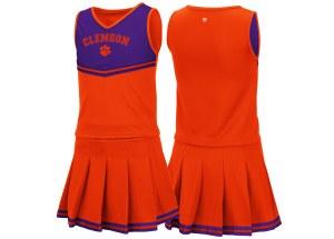 Clemson Tigers Girls Cheer Set YTH XSMALL