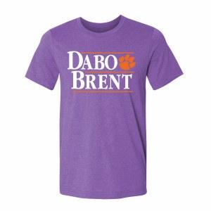 Clemson Tigers DABO/BRENT T-Shirt LARGE