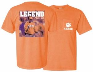 Clemson Tigers DABO Legend T-Shirt X-LARGE
