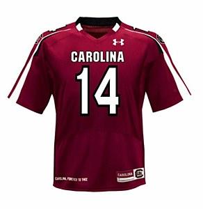 South Carolina Gamecocks #14 Shaw 2012 Jersey GARN 2X