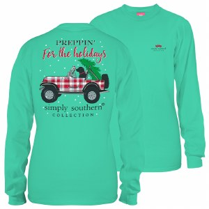 Simply Southern Preppin Long Sleeve T-Shirt SMALL