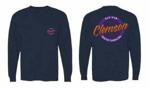 Clemson Old Row Long Sleeve T-Shirt SMALL