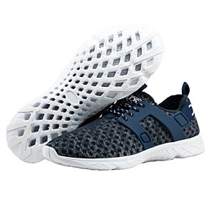 Hey Dude Mistral Mens Navy Shoes 12