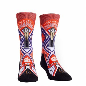 Clemson Tigers 2018 National Champs Socks YOUTH