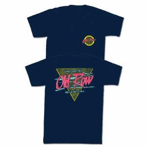 Old Row Retro Triangle T-Shirt SMALL