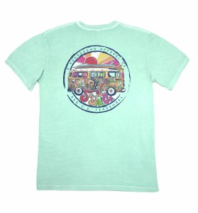 Southern Fried Cotton One Love T-Shirt SMALL