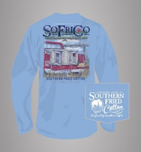 Southern Fried Cotton Out For The Hunt Long Sleeve X-LARGE