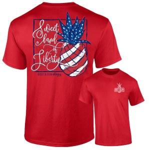 Southernology Sweet Land of Liberty T-Shirt SMALL
