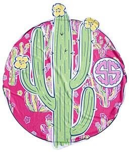 Simply Southern Cactus Beach Towel