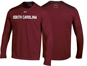 South Carolina Gamecocks 2014 Sideline Long Sleeve Tee GARNET XL