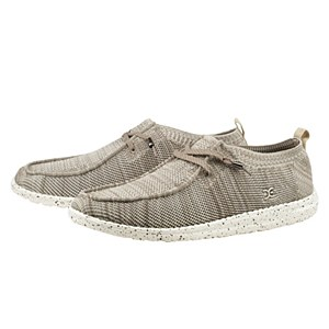 Hey Dude Wally Knit Beige Shoes 12