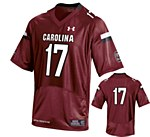 South Carolina Gamecocks #17 Thompson Jersey GARN YMD
