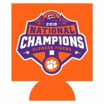 Clemson Tigers 2018 National Champs Can Koozie