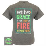 Grace & Fire T-Shirt SMALL