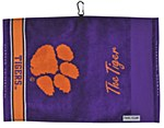 Clemson Tigers Jacquard Golf Towel