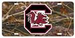 South Carolina Gamecocks Camo Plate