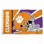 Clemson Tigers Helmet Flag