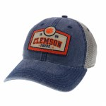 Clemson Tigers 1889 Patch Navy Trucker Hat