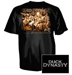 Duck Dynasty Black T-Shirt MD