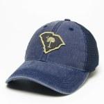 Palmetto State Navy Vintage Trucker Hat