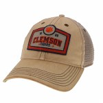Clemson Tigers 1889 Patch Dirty Trucker Hat