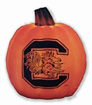 South Carolina Gamecocks Luminary Pumpkin