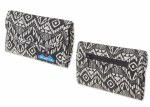Kavu BLACK BATIK Big Spender Wallet