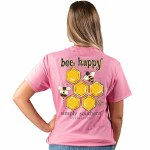Simply Southern Bee Happy T-Shirt SMALL