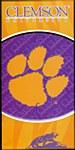 Clemson Tigers Beach Towel