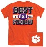 Clemson Tigers Best Is Standard T-Shirt SMALL