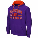 Clemson Tigers Mens Pullover Hoodie SMALL