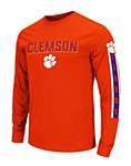 Clemson Tigers Surge Long Sleeve Tee SM
